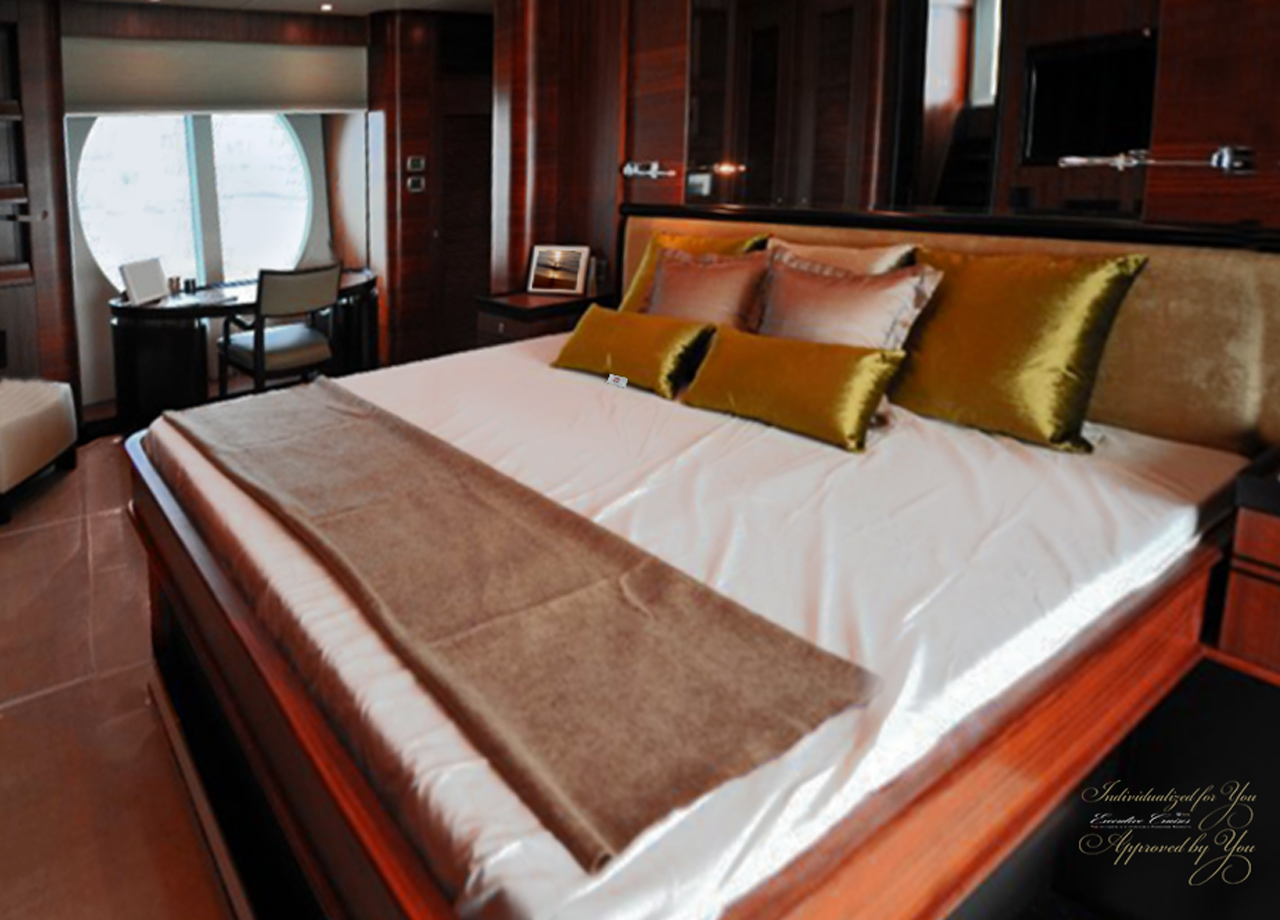 Yacht Cabin with Hostess