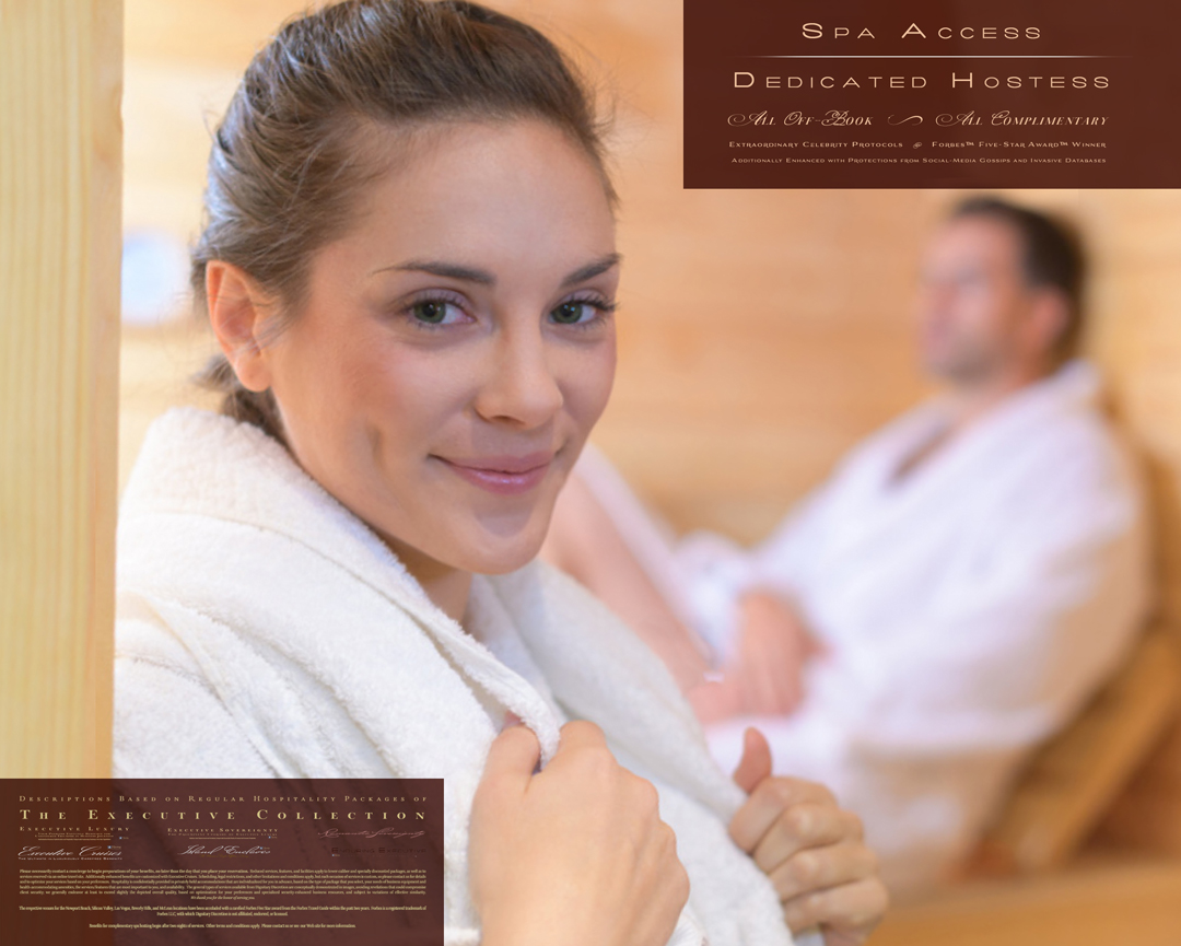 Private Spa Hostess Free Five Star Hotel