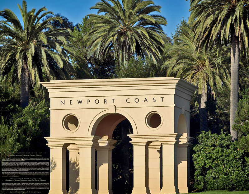Placements in Newport Coast, the Balboa Bay, and Dana Point
